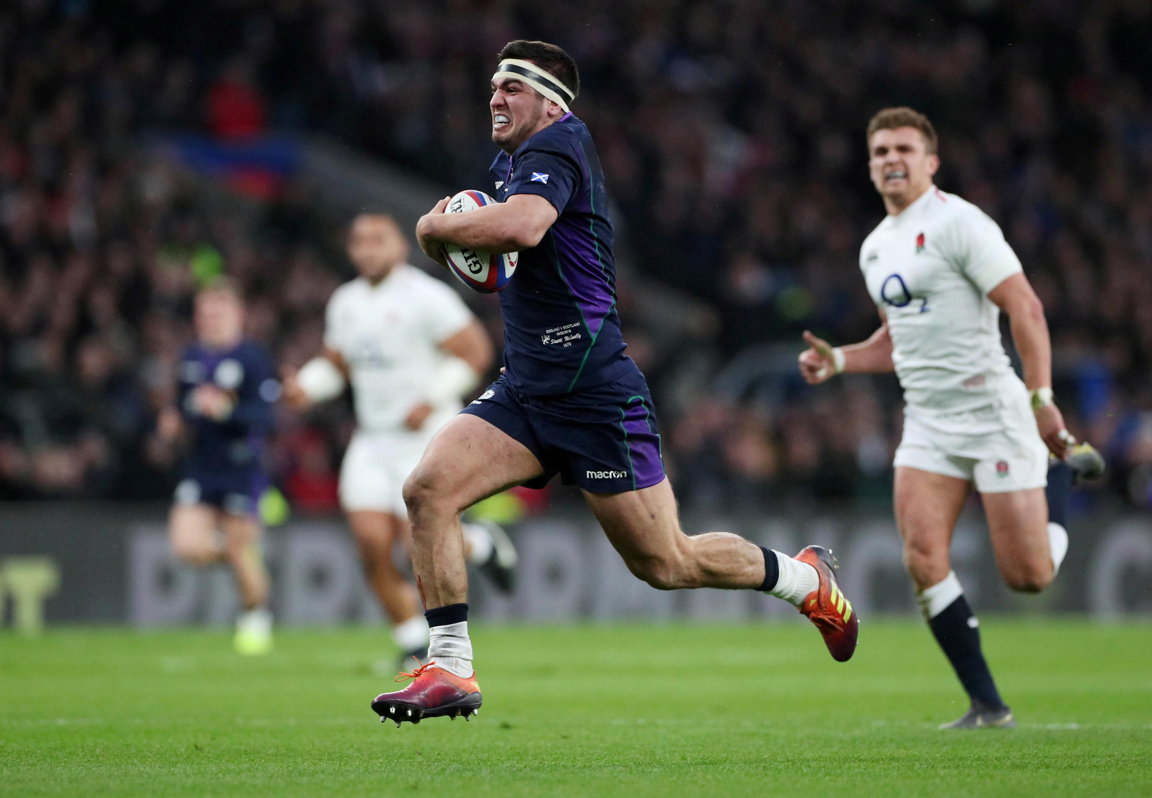 McInally can captain Scotland for 'years to come' - Laidlaw