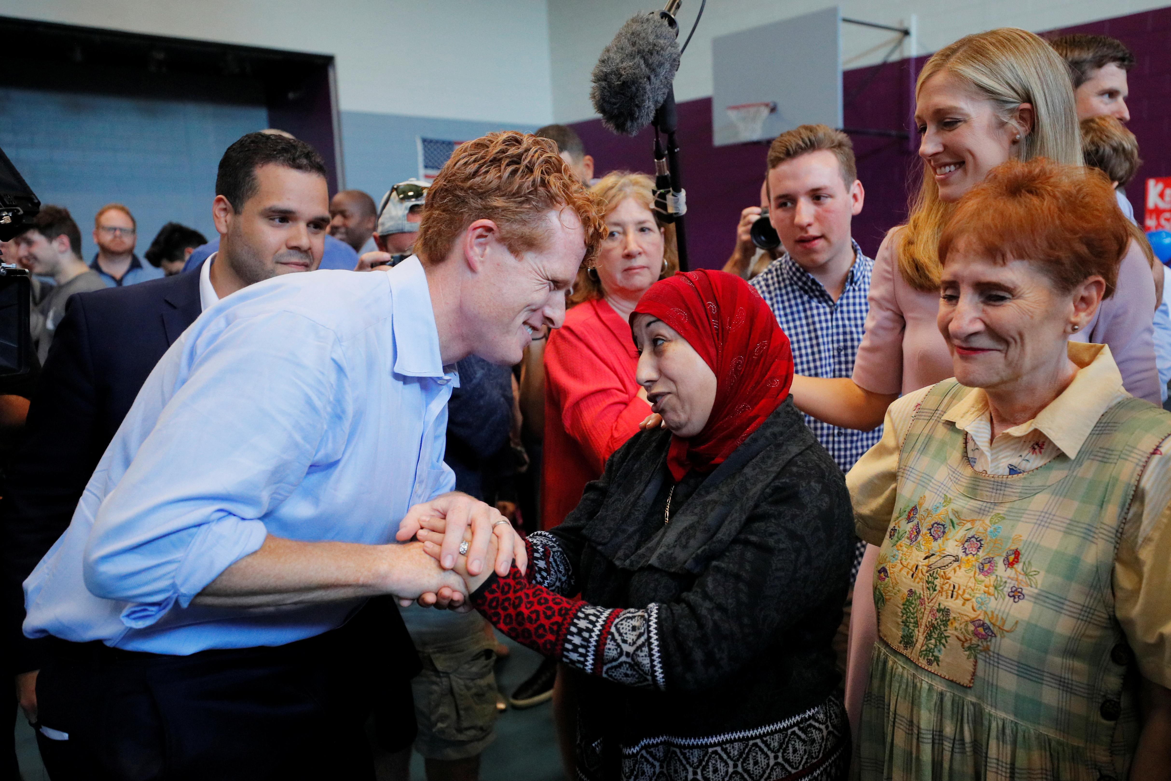 Joe Kennedy III launches primary campaign for Senate seat in...
