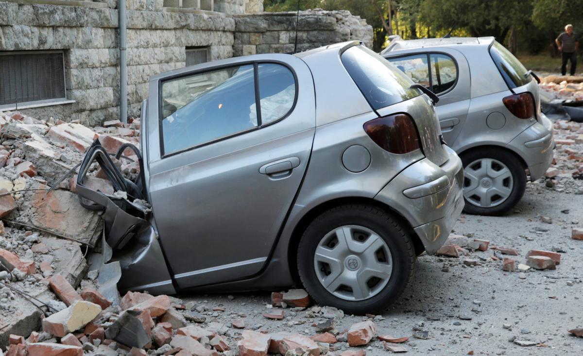 Aardbewing met 'n sterkte van 5.6 veroorsaak geboue in Albanië