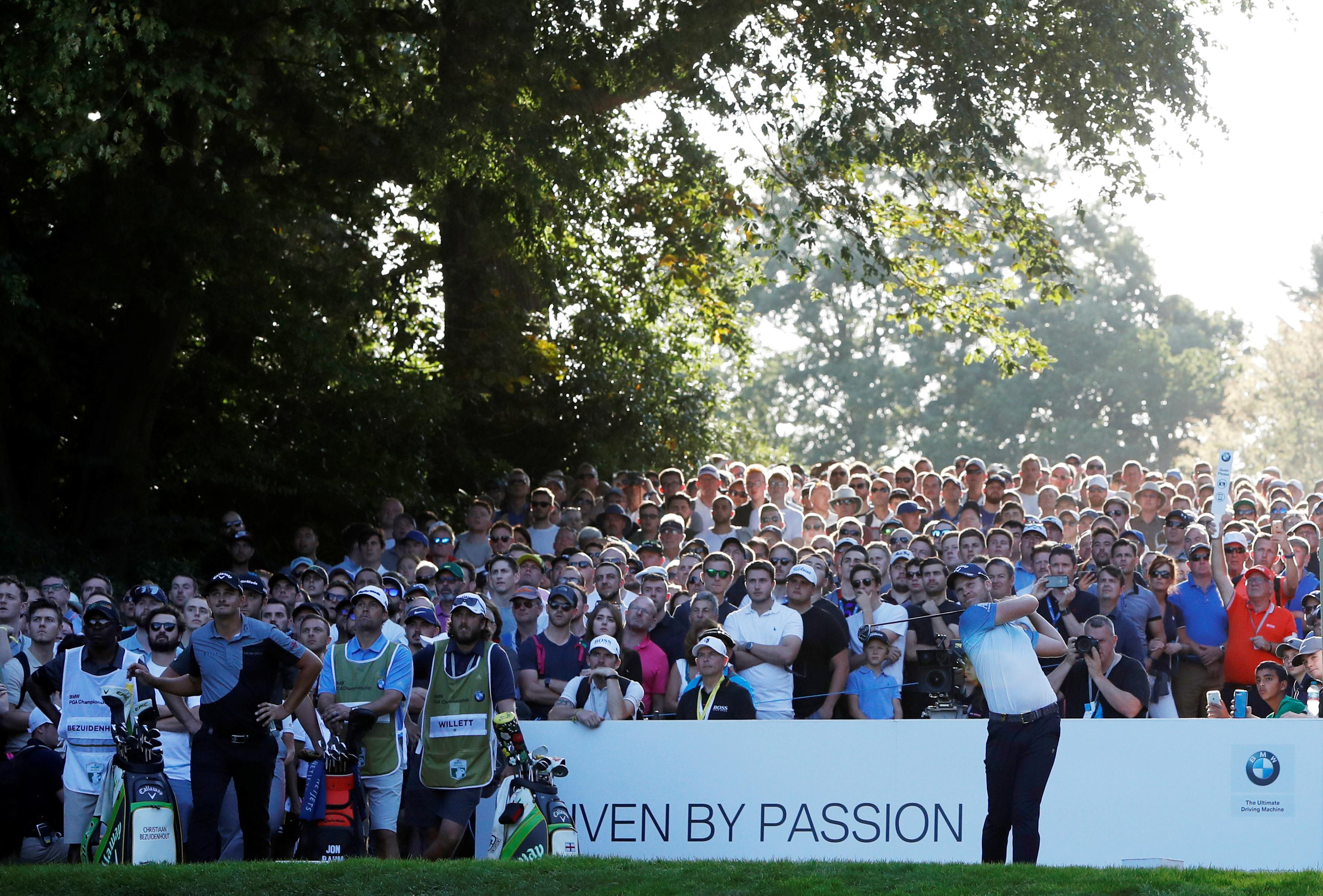 Willett and Rahm share lead heading into final day of PGA Championship