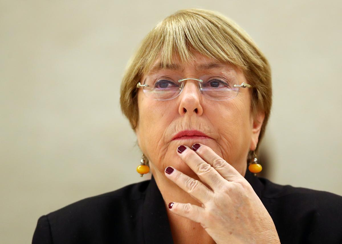 U.N. Rights chief Bachelet says feels 'sorry' for Brazil under...