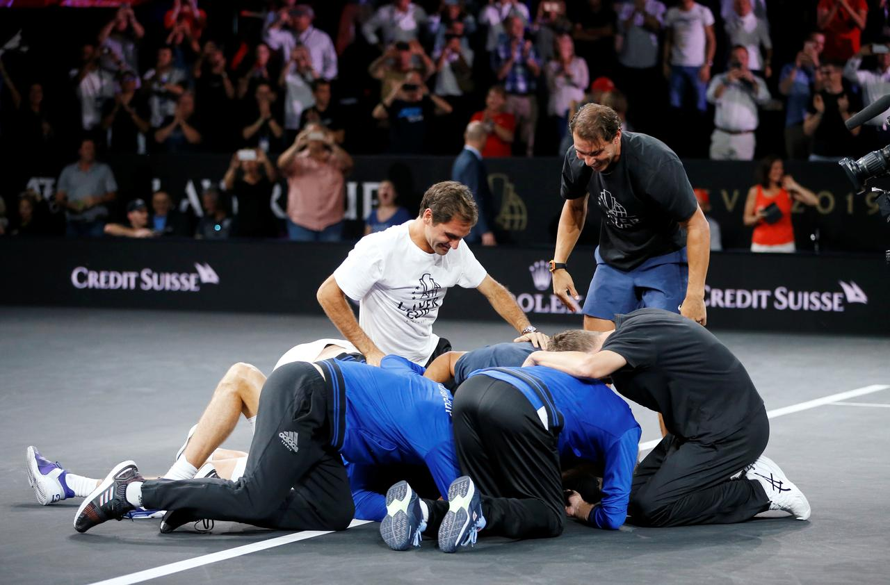 Zverev Completes Laver Cup Win For Europe Reuters