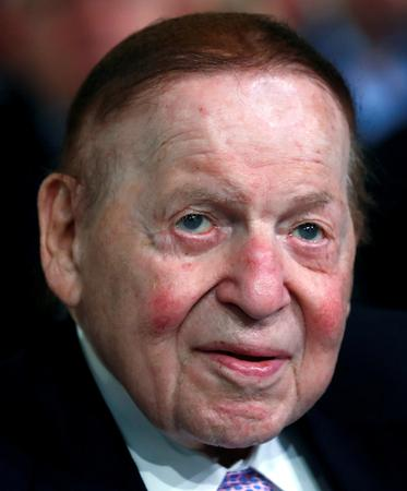 Republican casino magnate Adelson cautioned Trump on trade war with China: WSJ