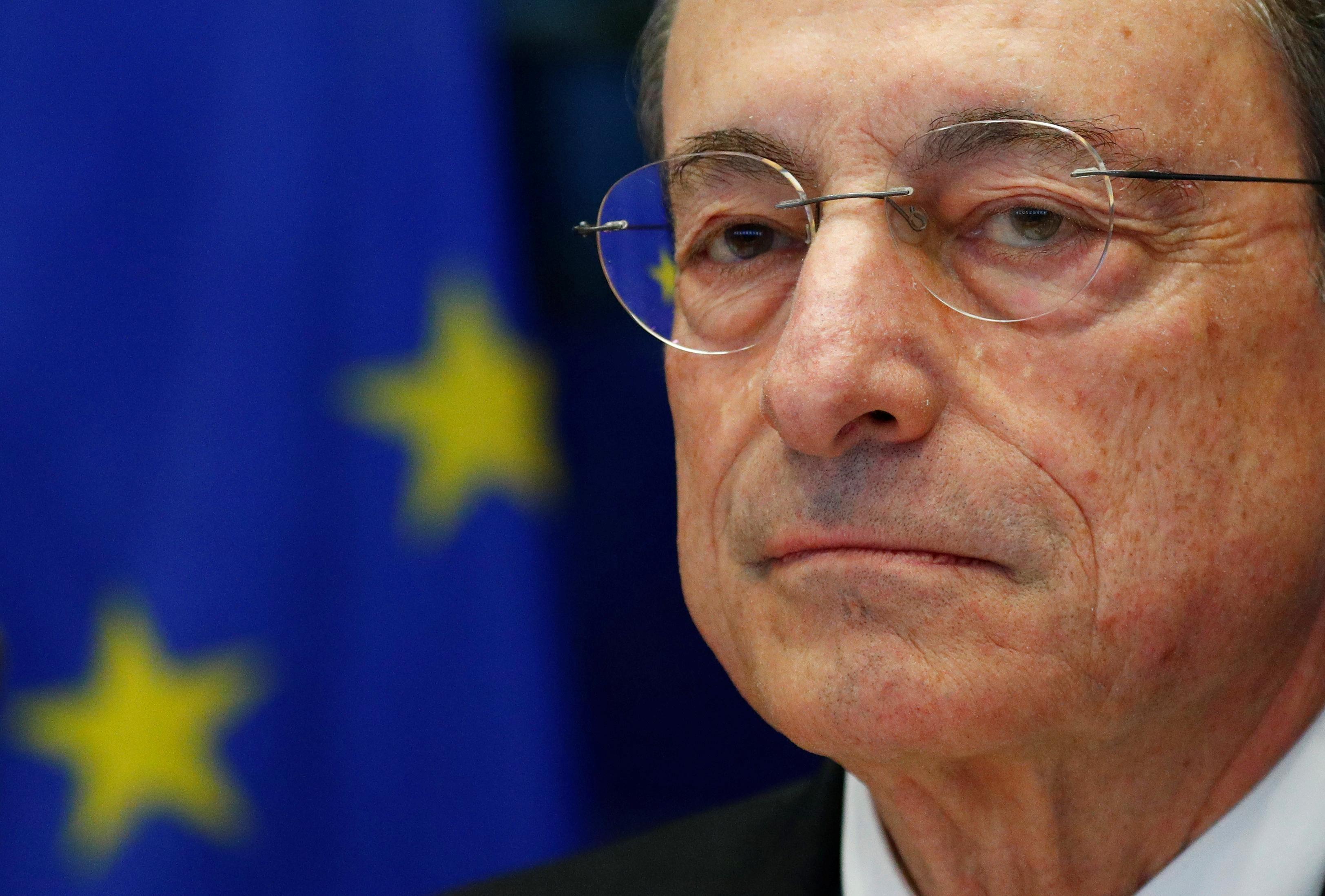 Draghi confident of ECB buying Greek bonds if progress made