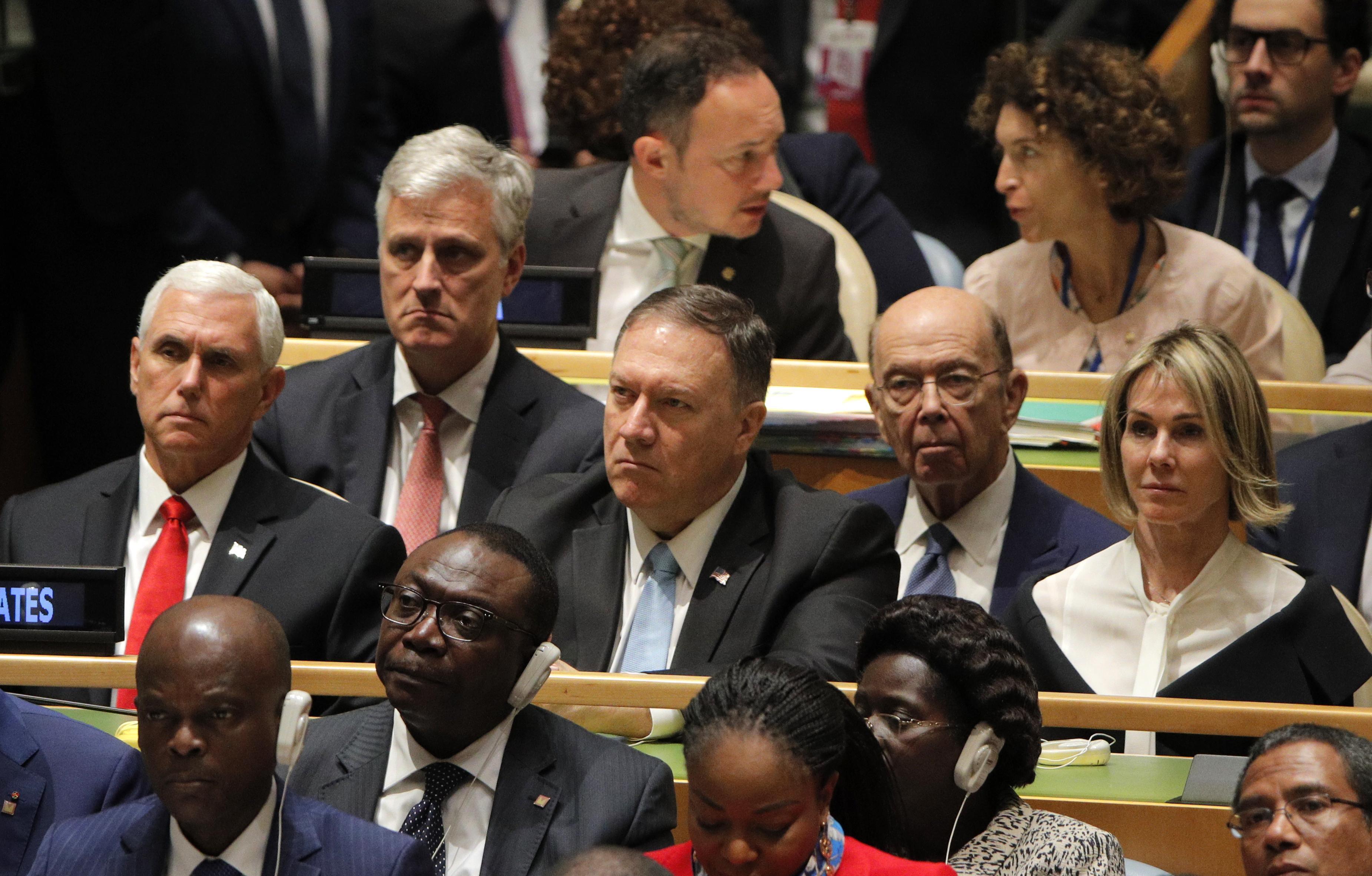 """Trump accuse l'Iran de """"luxure"""" dans le discours américain mais affirme qu'il existe un chemin menant à la paix"""