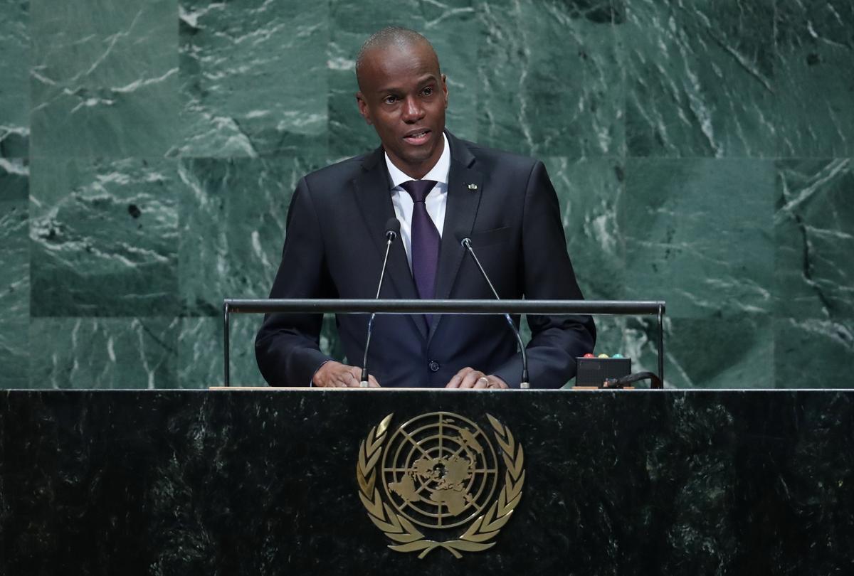 Die president van Haïti vra vir eenheidsregering, betogers eis bedanking