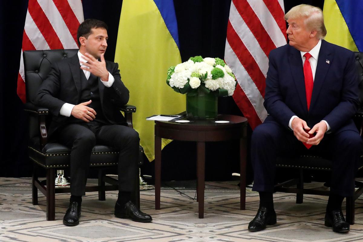 Vir die leier van die Oekraïne is Trump se memo op hul oproep 'n diplomatieke motorongeluk