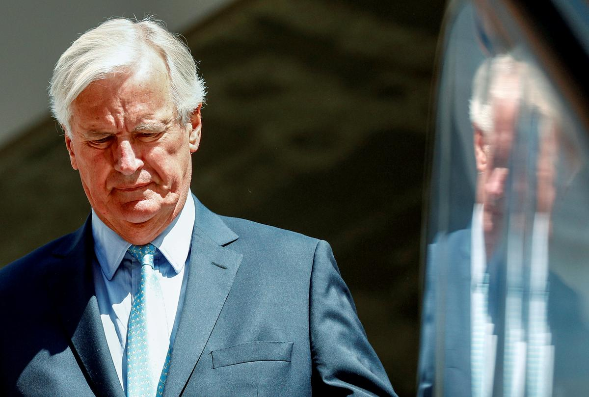 EU wag op 'wettige en operasionele' Brexit-idees van die UK - Barnier