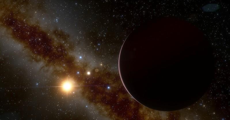Wetenskaplikes verbaas oor die groot planeet wat om 'n klein sterretjie wentel