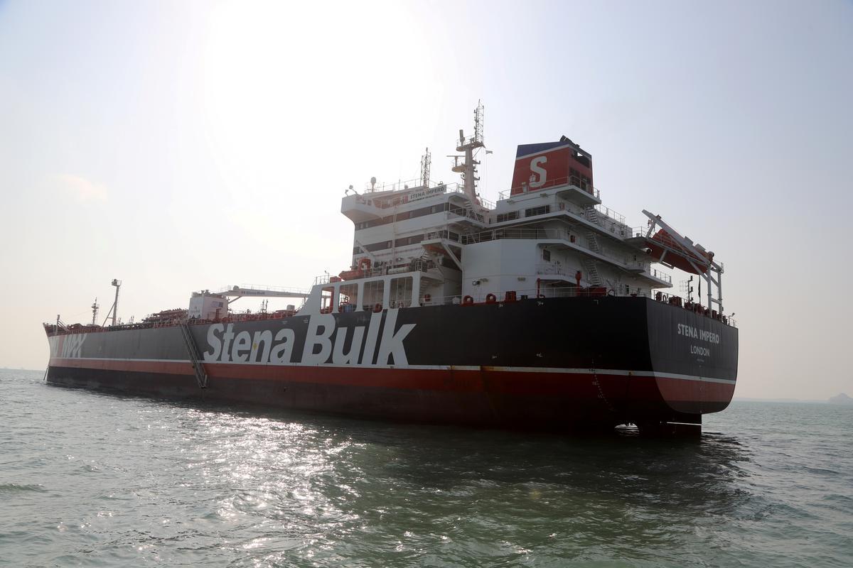 British tanker arrives in Dubai after 10-week detention in Iran