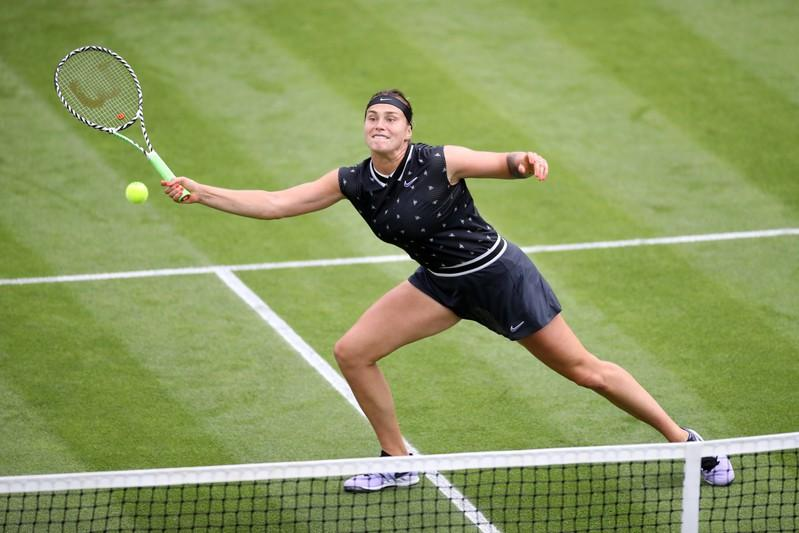 Sabalenka overcomes determined Riske to retain Wuhan title