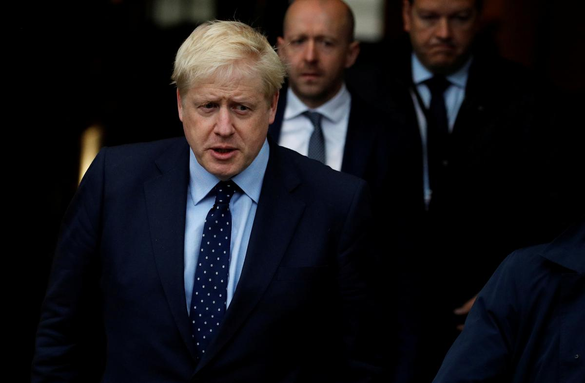 British PM Johnson vows to stay put to hit Oct 31 Brexit deadline
