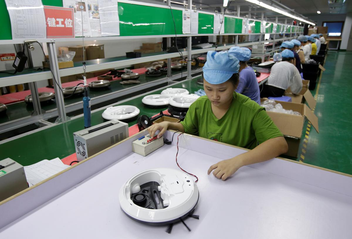 China Sept factory surveys show flickers of improvement but outlook...