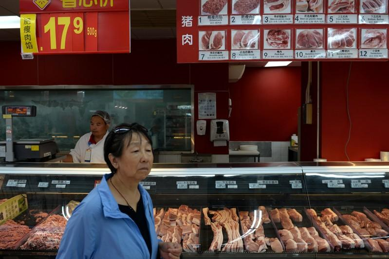 Happy holidays? Not in China if frozen pork is on the table