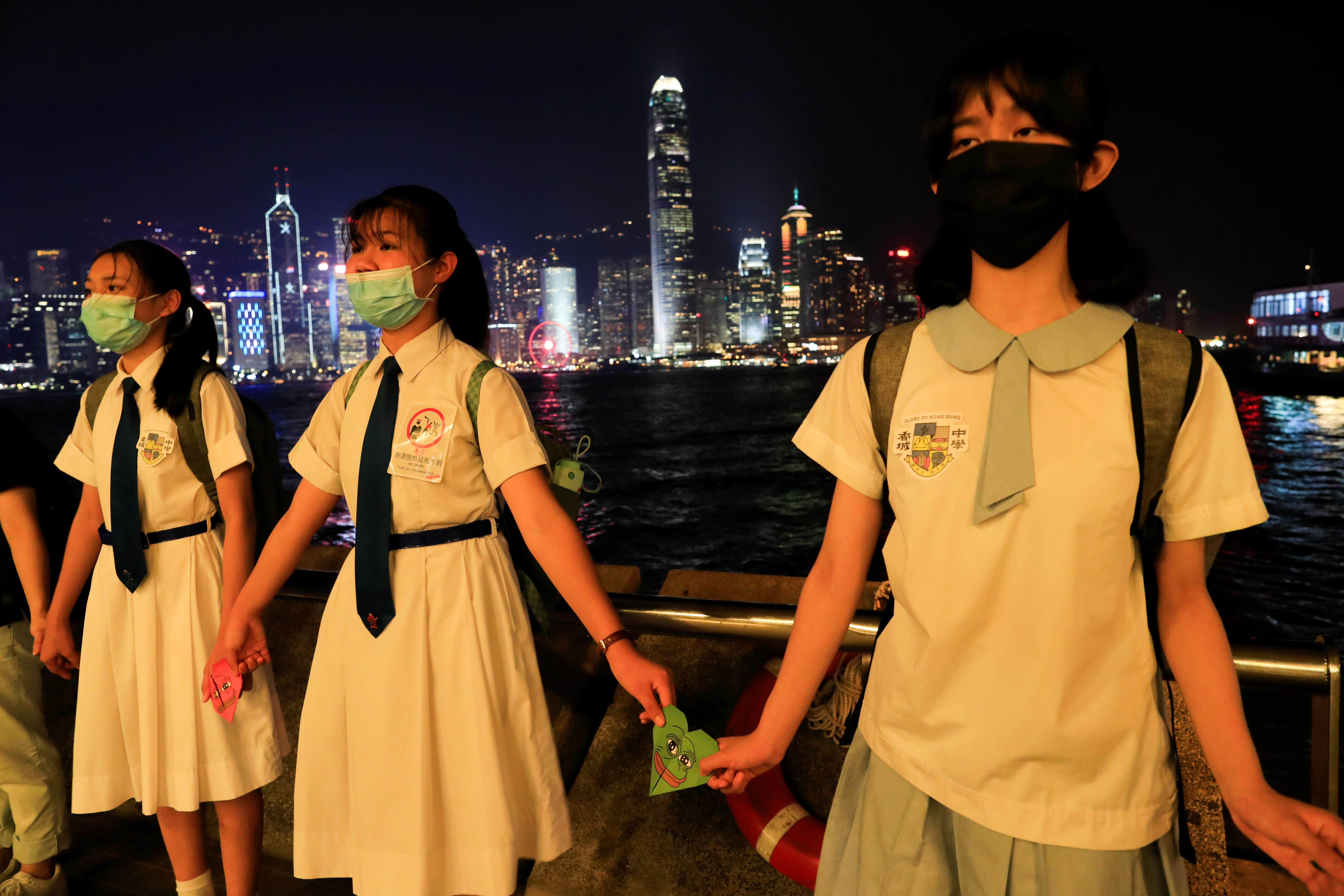 Hong Kong braces for 'violent attack' on sensitive Chinese anniversary: police