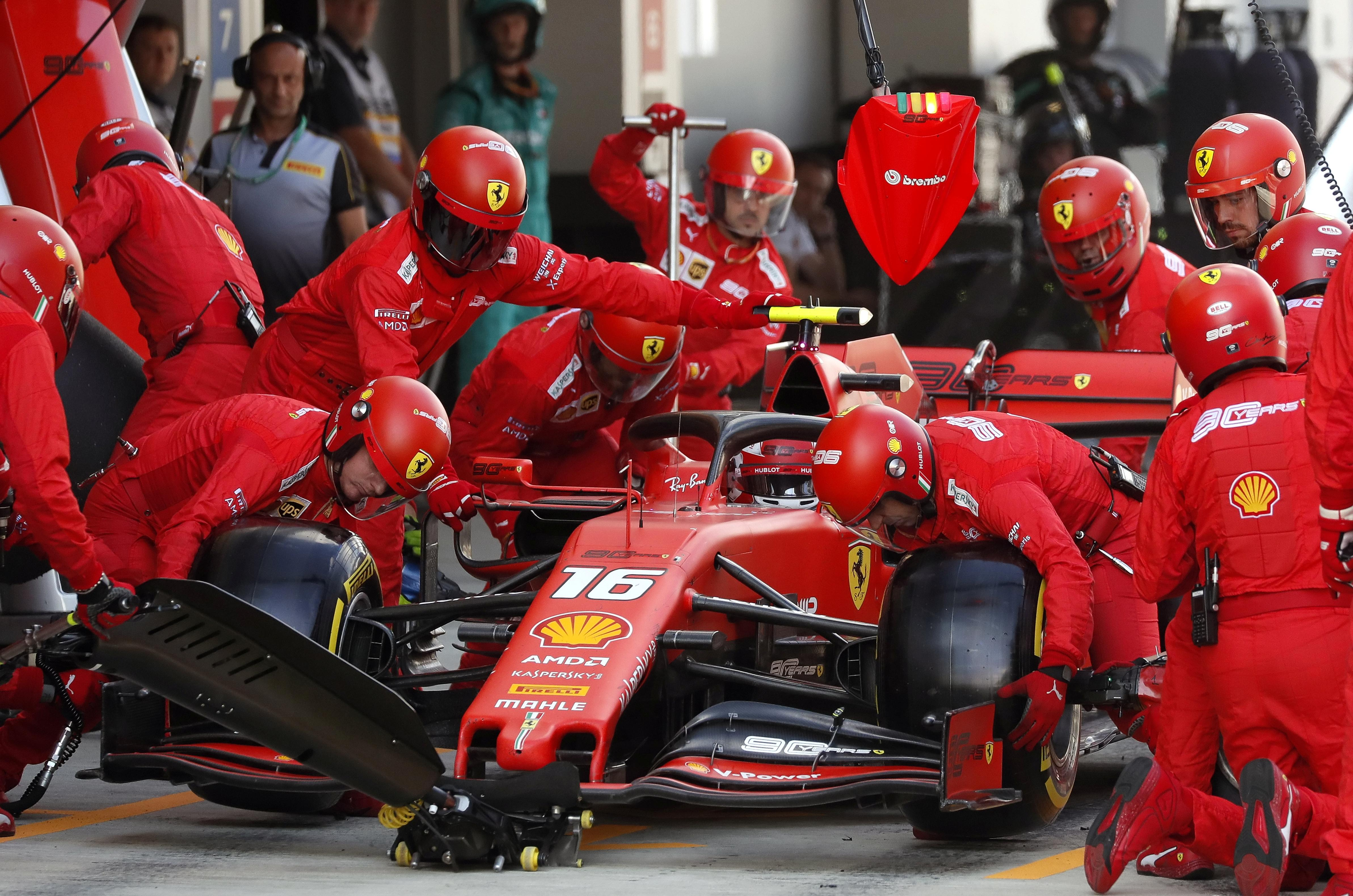 Ferrari face the fallout of two roosters in one henhouse