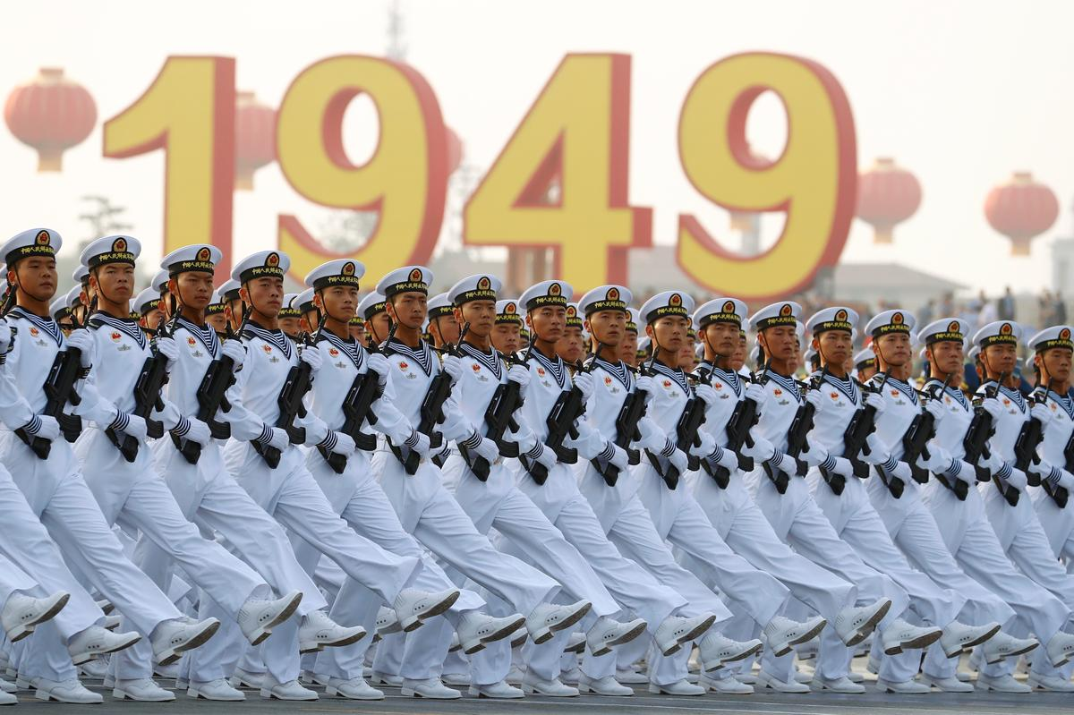 China flexes military muscle to mark 70 years of Communist rule