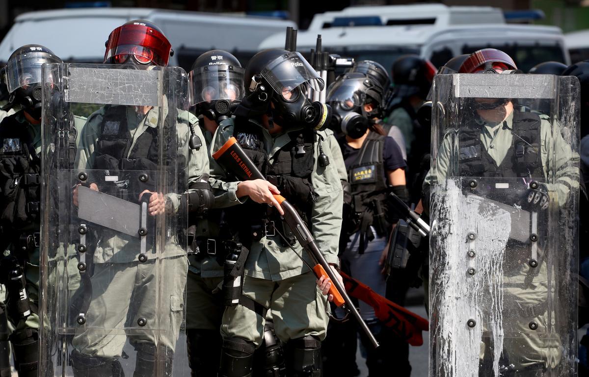 Tydlyn: Belangrike datums in protesoptogte in Hong Kong