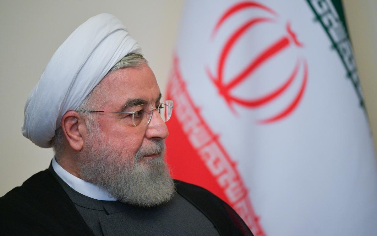 Iran se Rouhani sê dat die Franse plan vir besprekings in die breë aanvaarbaar is