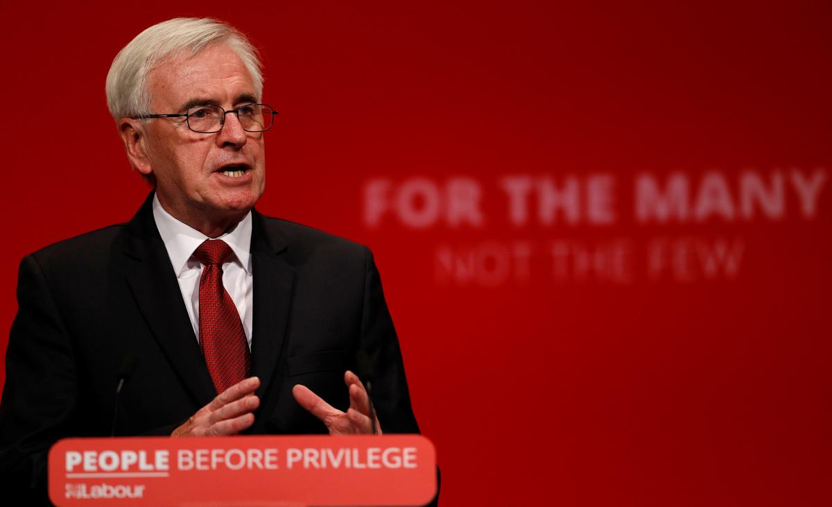UK Labour: PM Johnson is cynically forcing through no-deal Brexit