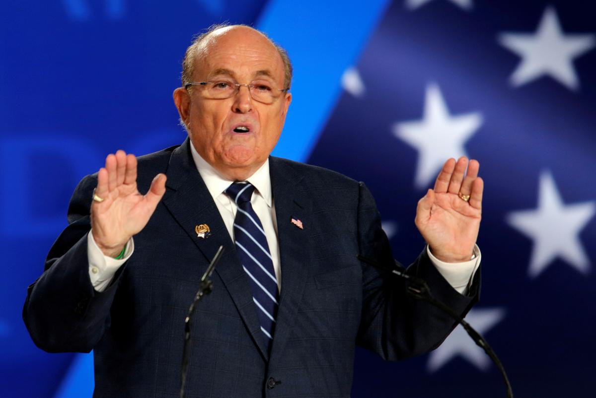 Giuliani's unusual role key to exposing internal Trump documents