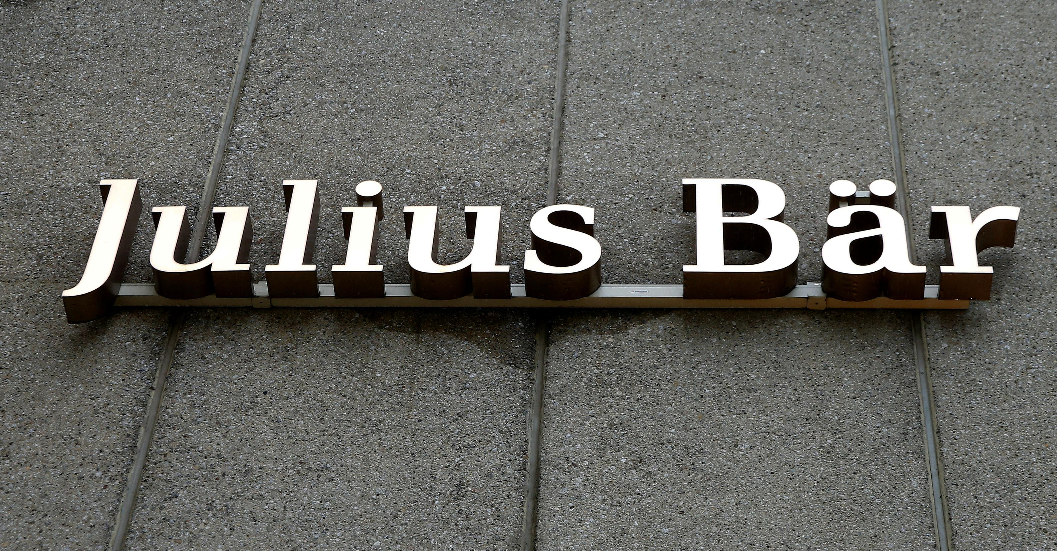 Swiss bank Julius Baer cuts executive board to 9 from 15