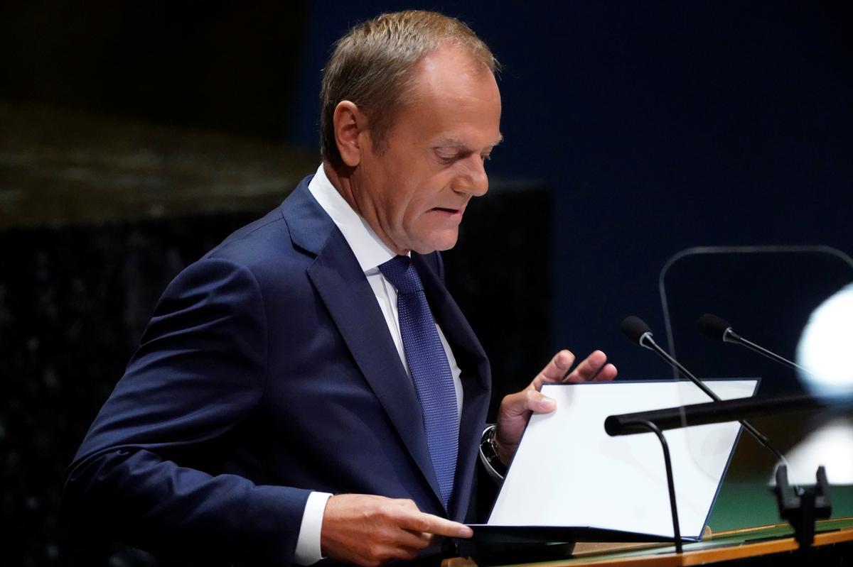 Tusk sê die EU verenig met Ierland op Brexit, nie oortuig van die Britse plan nie