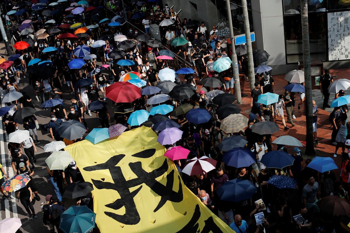 VN vra dat daar ondersoek ingestel word na geweld wat verband hou met protesoptogte in Hong Kong