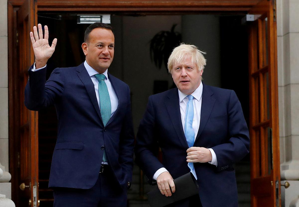 Ierse premier sê volgende week wil hy die Britse Johnson op Brexit ontmoet