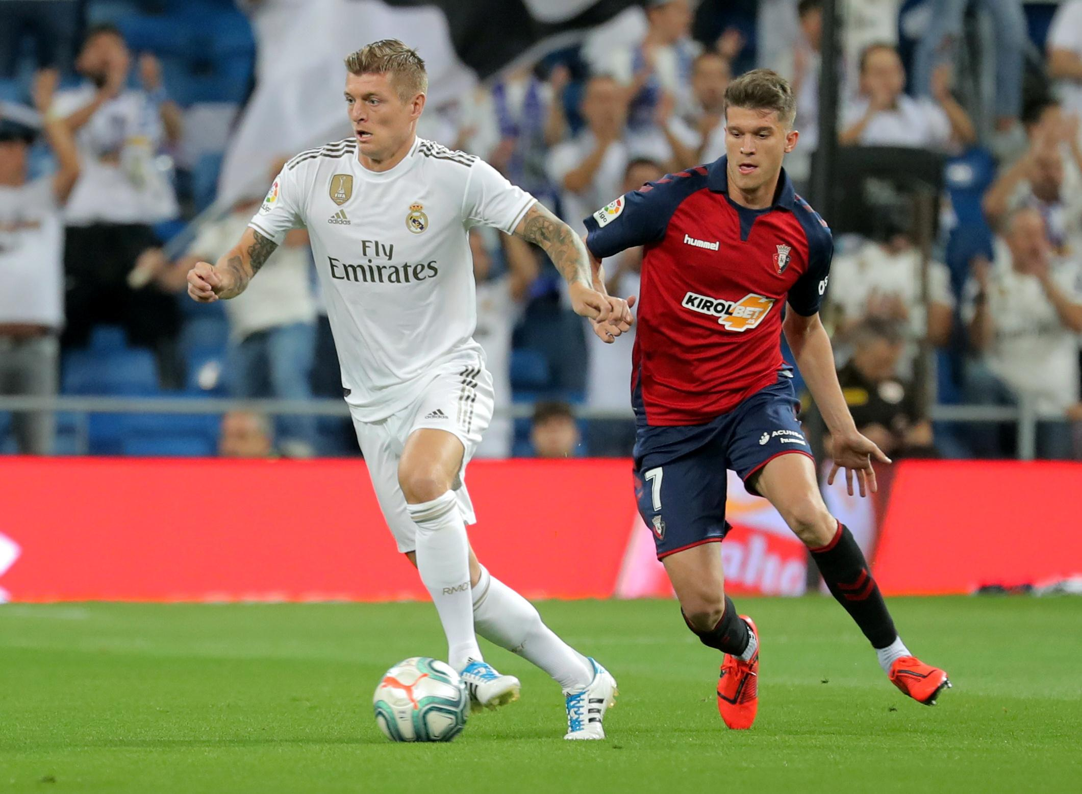 Injured Kroos out of Germany matches, in danger of missing Clasico