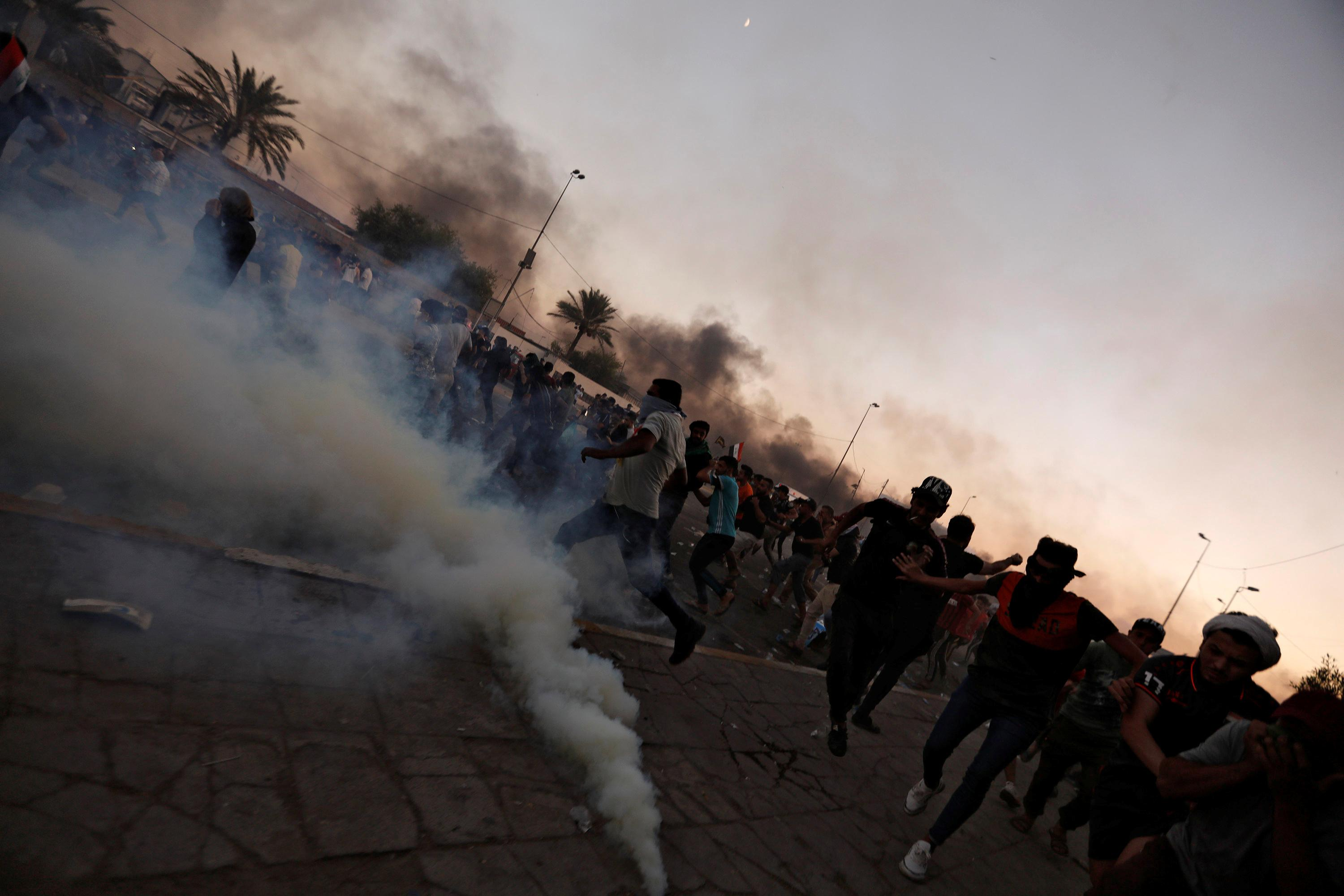 104 people killed in Iraq unrest, 6,000 wounded: Interior Ministry