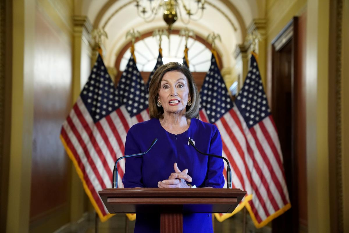 Trump amps up complaints, says Pelosi may be guilty of treason