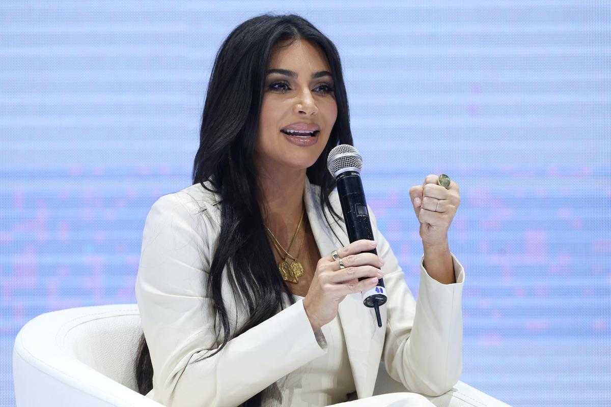 Eksklusief: Kim Kardashian prys die klimaataktivis Thunberg en hoop om te vergader