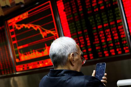 GLOBAL MARKETS-Asian stocks swoon on signs of prolonged U.S.-China standoff