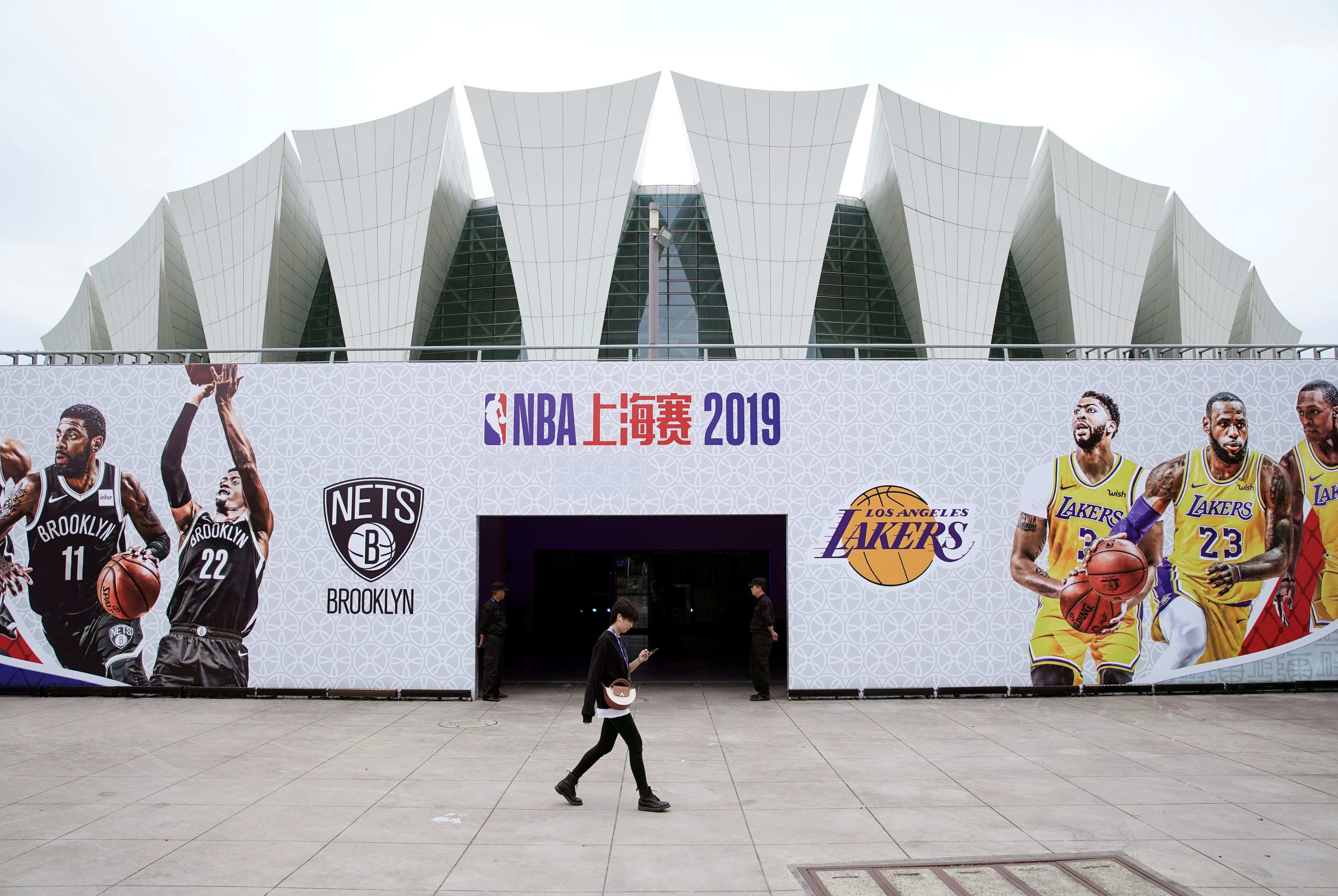 Les organisateurs chinois annulent un événement réservé aux fans de la NBA alors que le discours est libre