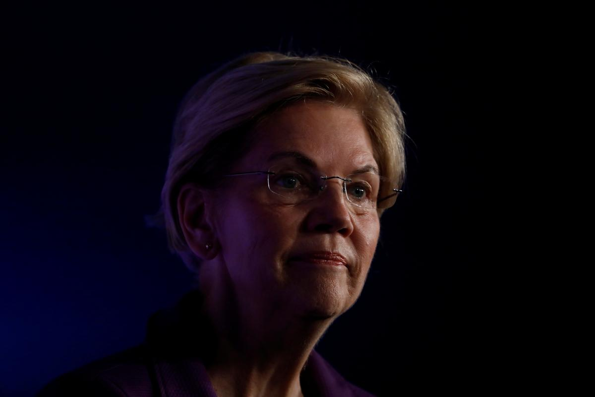photo image Democrat Warren swears off high-dollar fundraisers if she gets presidential nomination