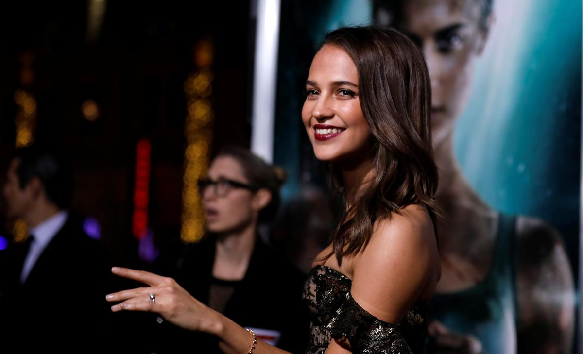 Alicia Vikander takes on bilingual role in Tokyo-set 'Earthquake Bird'
