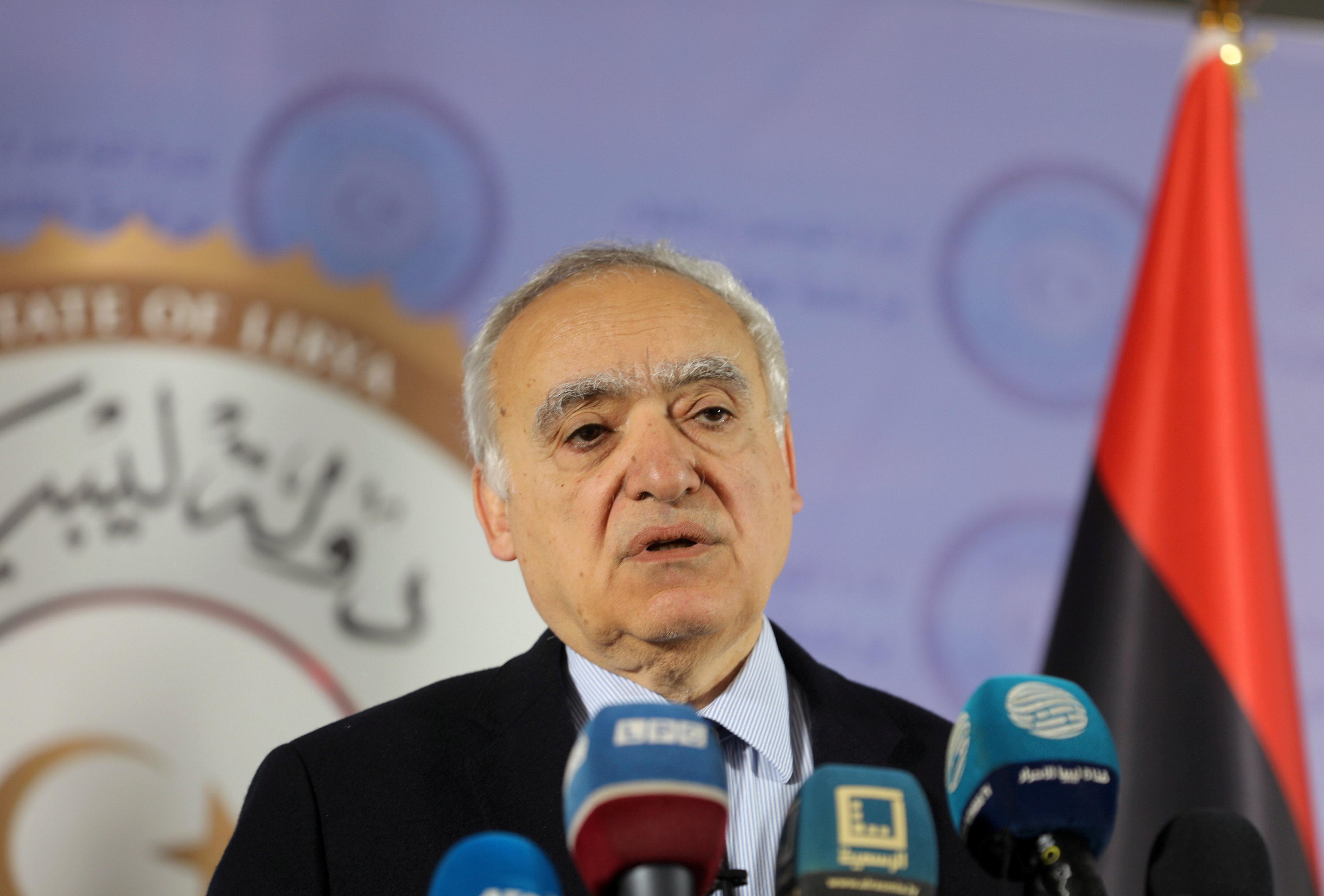 U.N. envoy pushes to stop 'blatant' embargo violations in Libya
