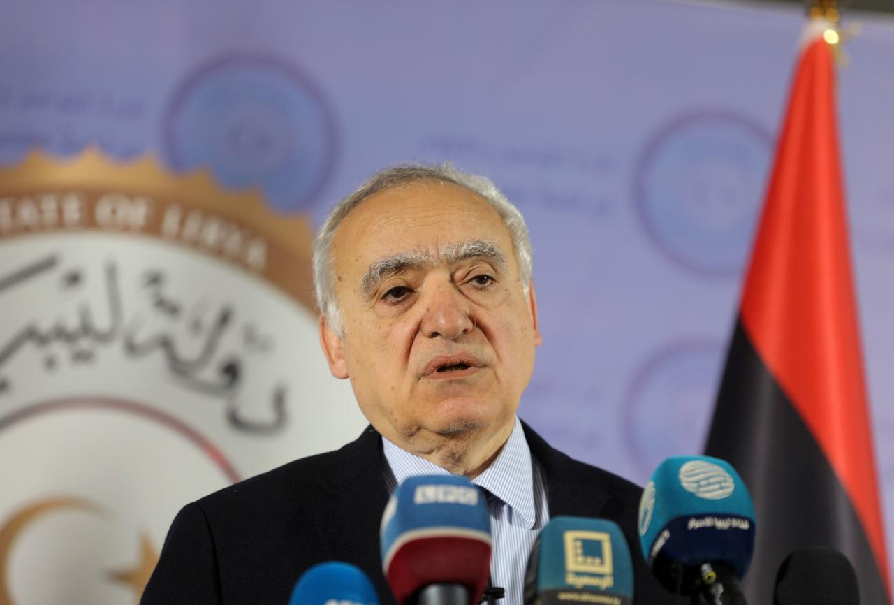 Image result for U.N. envoy pushes to stop 'blatant' embargo violations in Libya