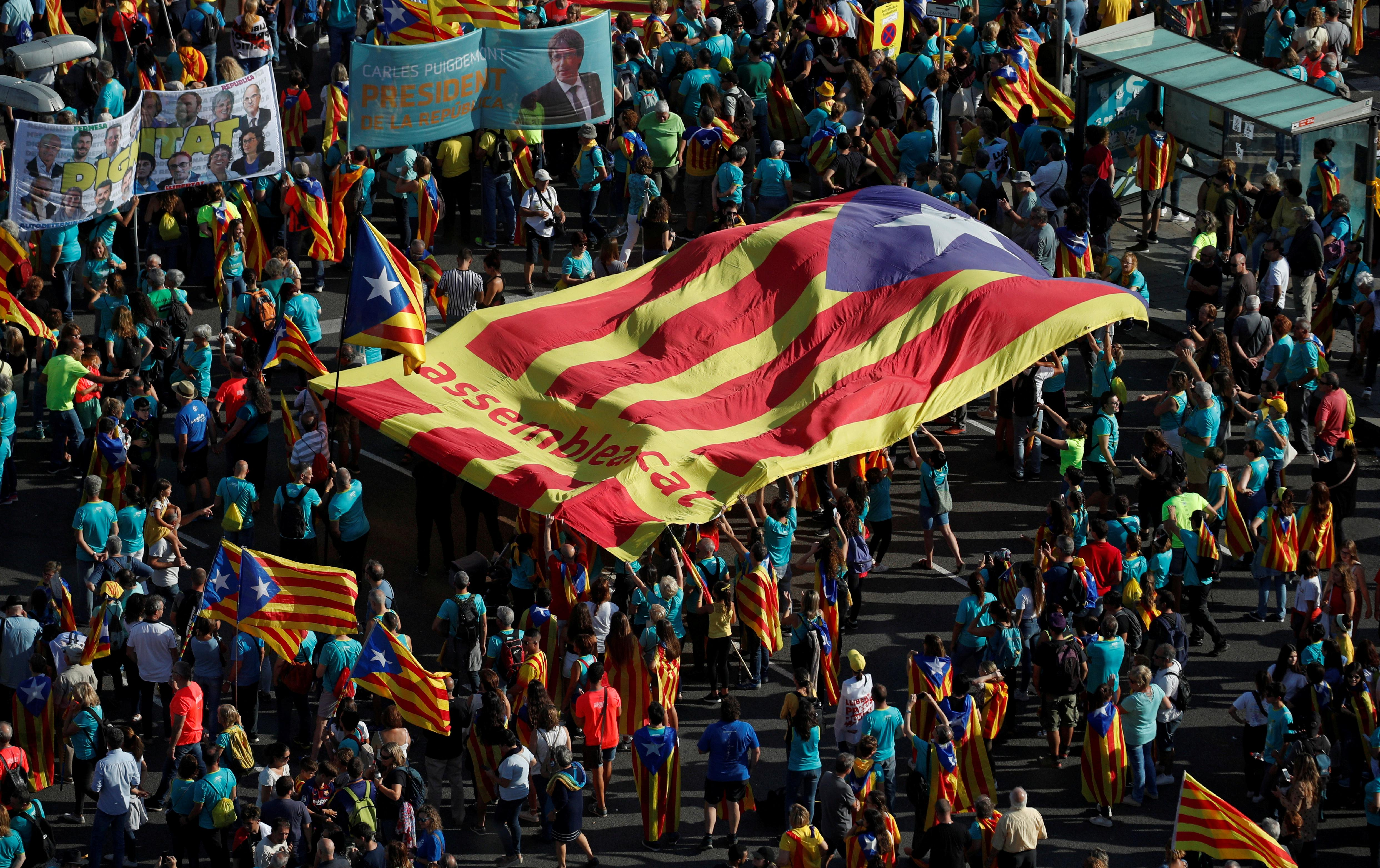 Catalan separatist leaders to get up to 15 years in jail - judicial...