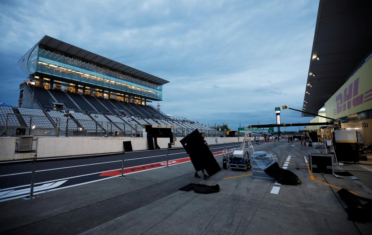 All systems go for F1 in Suzuka after Typhoon Hagibis