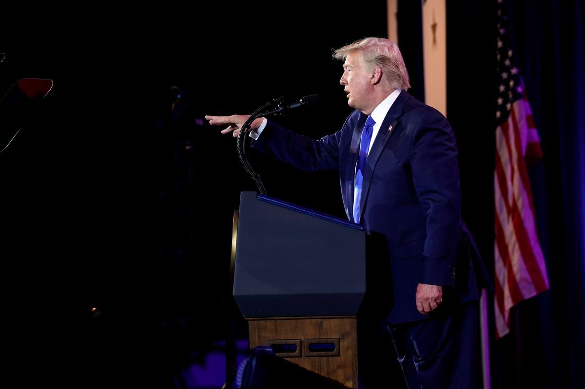 White House reporters condemn fake video showing Trump killing press