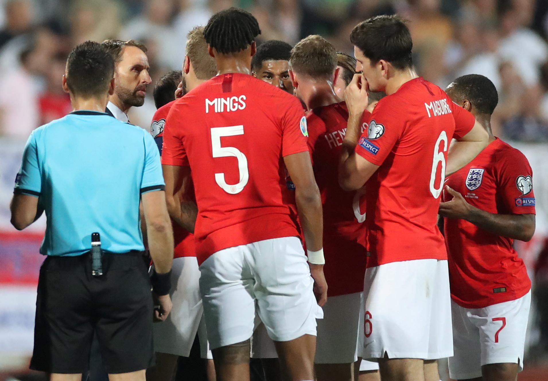Racist abuse blights Bulgaria-England qualifier