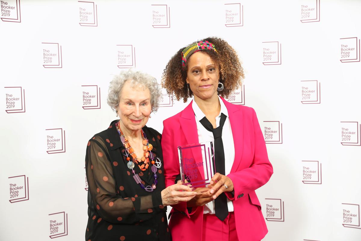 Rule-breaking Booker judges honor Atwood, Evaristo with rare double...