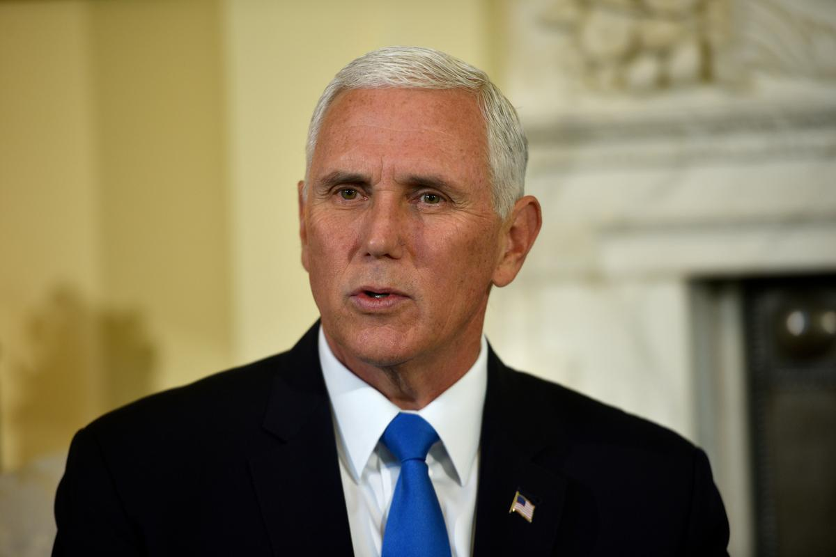Pence says Trump spoke to Erdogan and asked for immediate ceasefire