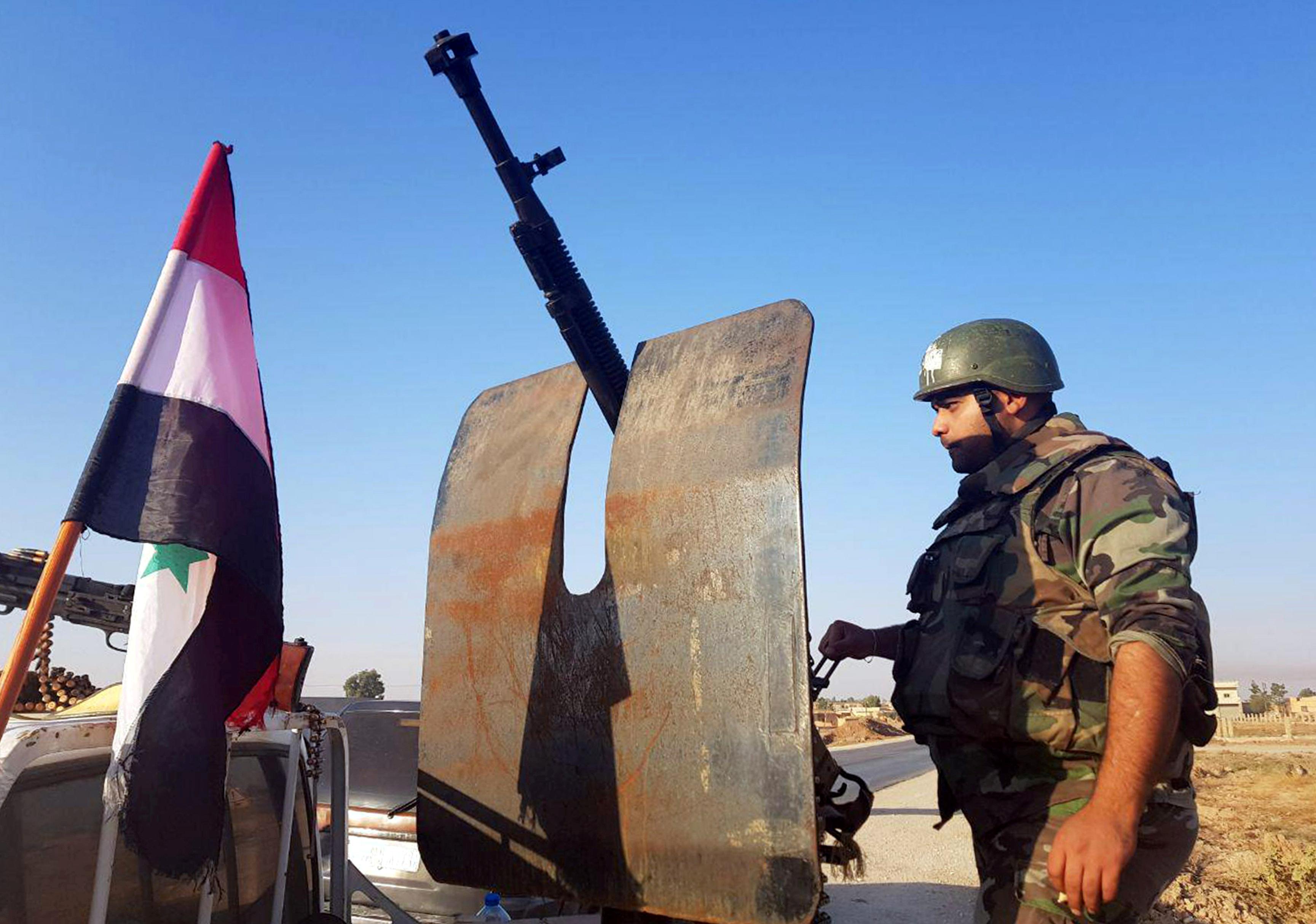 U.S. demands Syria ceasefire, slaps sanctions on Turkey over incursion