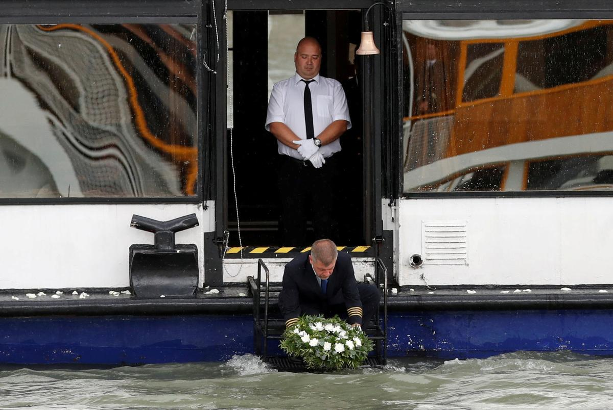 Hungary captain expected to face charges over Danube boat disaster