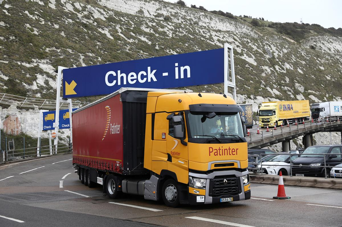 UK's Dover is ready for Brexit but eyes French border and paperwork