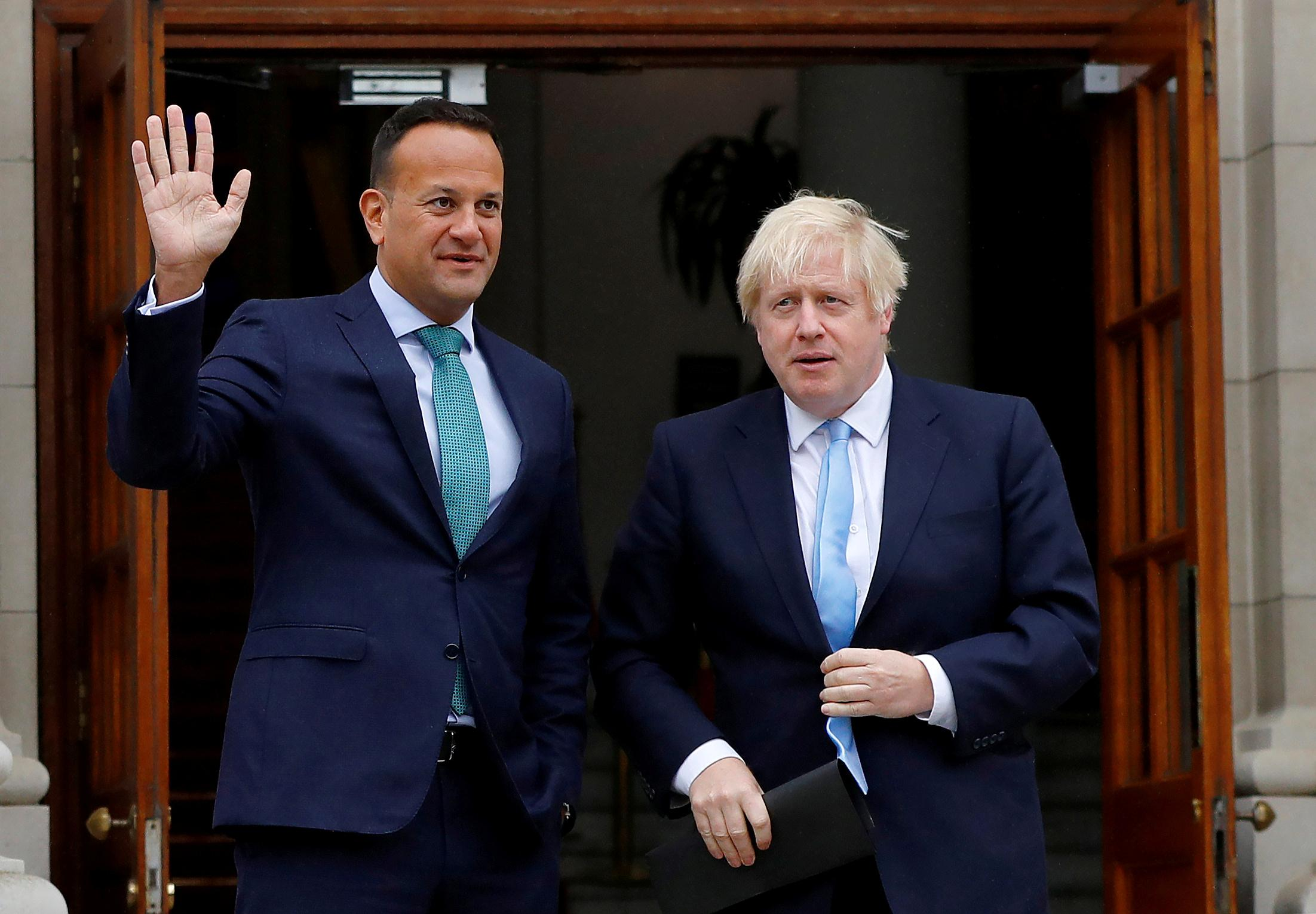 Irish PM says Brexit talks make progress and going in the right...