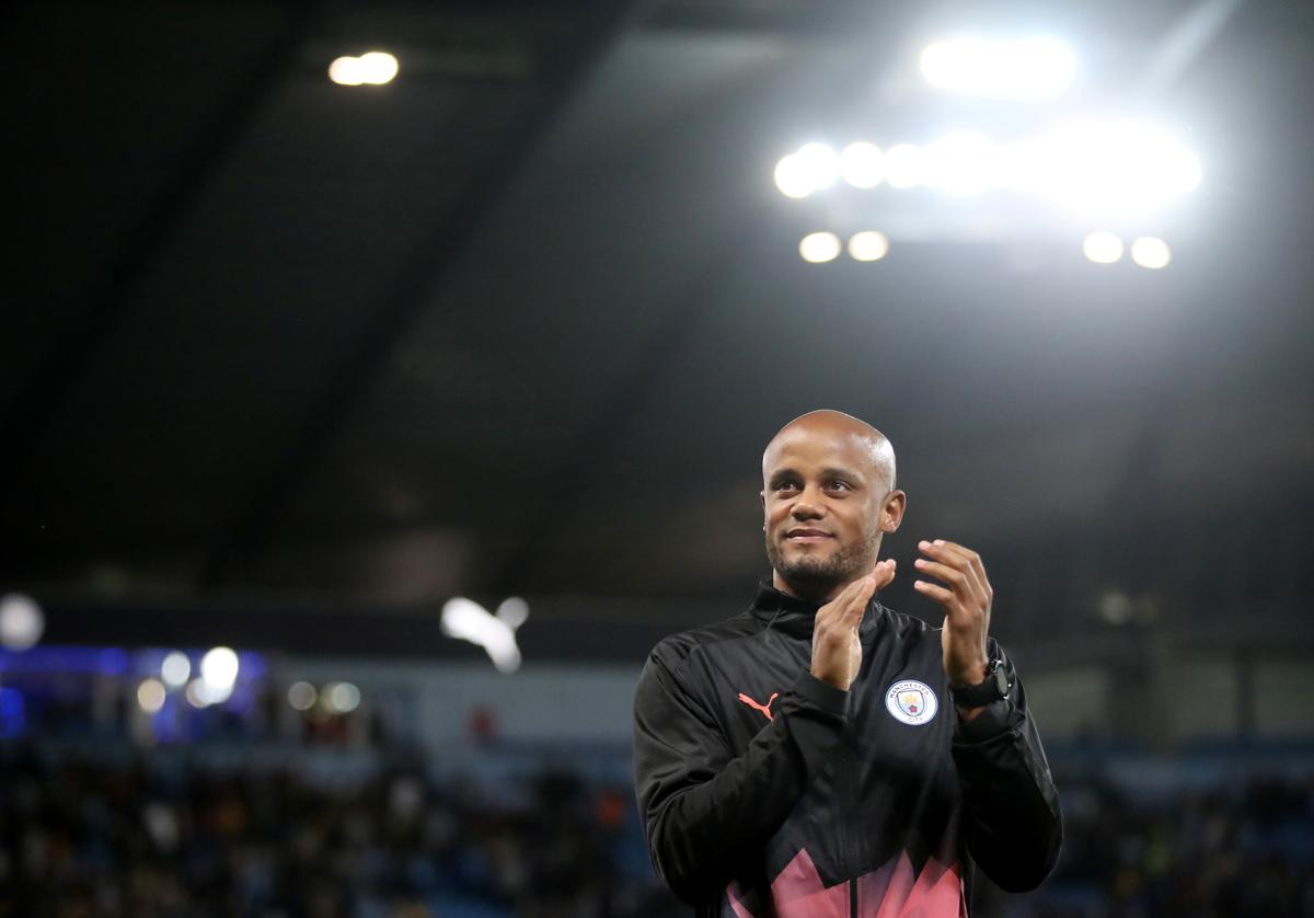 Anderlecht fined for naming Kompany as coach